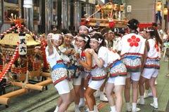 Οζάκα, Ιαπωνία - φεστιβάλ Tenjin Matsuri Στοκ Εικόνα