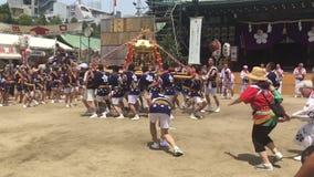 Οζάκα, Ιαπωνία - φεστιβάλ Tenjin Matsuri φιλμ μικρού μήκους