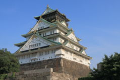 Οζάκα Castle Ιαπωνία Στοκ Εικόνες