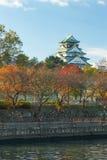 Οζάκα Castle το φθινόπωρο, Kansai, Ιαπωνία Στοκ φωτογραφίες με δικαίωμα ελεύθερης χρήσης