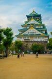 ΟΖΑΚΑ, ΙΑΠΩΝΙΑ - 18 ΙΟΥΛΊΟΥ 2017: Οζάκα Castle στην Οζάκα, Ιαπωνία Το κάστρο είναι μια από την Ιαπωνία ` s τα περισσότερα διάσημα Στοκ Εικόνες