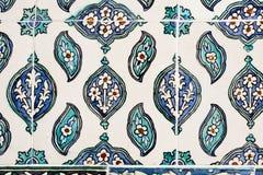 Οθωμανικά κεραμίδια Στοκ Εικόνα