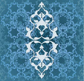οθωμανικός άνευ ραφής παραδοσιακός Τούρκος σχεδίου Στοκ εικόνα με δικαίωμα ελεύθερης χρήσης