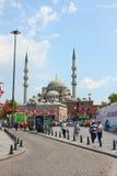 Οθωμανικό μουσουλμανικό τέμενος στην Κωνσταντινούπολη, Τουρκία Στοκ φωτογραφίες με δικαίωμα ελεύθερης χρήσης