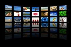 οθόνες Στοκ εικόνα με δικαίωμα ελεύθερης χρήσης