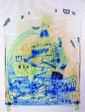 Οθόνη ακτίνας X που πυροβολείται ενός συνόλου τσαντών καροτσακιών του καλωδίου και της ηλεκτρονικής Στοκ Φωτογραφία