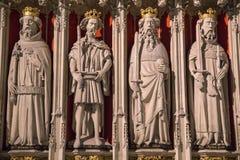 Οθόνη βασιλιάδων στο μοναστηριακό ναό της Υόρκης Στοκ Φωτογραφίες