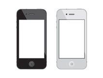 οθόνη επαφής smartphone iphone 4 μήλων Στοκ φωτογραφία με δικαίωμα ελεύθερης χρήσης