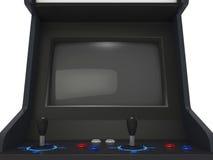 Οθόνη μηχανών Arcade Στοκ φωτογραφίες με δικαίωμα ελεύθερης χρήσης