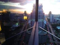 Οθόνη Μπανγκόκ Ταϊλάνδη πόλεων στοκ εικόνες