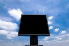 οθόνη παρουσίασης υπολογιστών Στοκ εικόνα με δικαίωμα ελεύθερης χρήσης