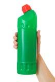 οικιακά προϊόντα καθαρισμού μπουκαλιών Στοκ εικόνα με δικαίωμα ελεύθερης χρήσης