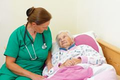 Οικιακή φροντίδα στοκ εικόνες με δικαίωμα ελεύθερης χρήσης
