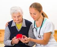 Οικιακή φροντίδα στοκ εικόνα