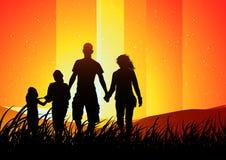 οικογένεια έννοιας υπαί&th ελεύθερη απεικόνιση δικαιώματος