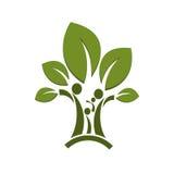 Οικογένεια δέντρων Στοκ εικόνες με δικαίωμα ελεύθερης χρήσης