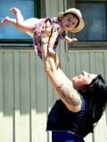 Οικογένεια αμερικανών ιθαγενών Στοκ εικόνες με δικαίωμα ελεύθερης χρήσης