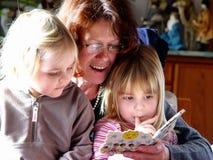 οικογένεια απογεύματο&s Στοκ φωτογραφίες με δικαίωμα ελεύθερης χρήσης