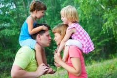οικογένεια αστεία στοκ φωτογραφίες με δικαίωμα ελεύθερης χρήσης