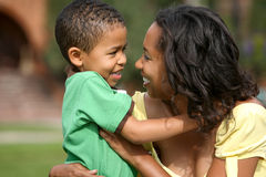 οικογένεια αφροαμερικ στοκ εικόνες με δικαίωμα ελεύθερης χρήσης