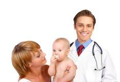 οικογένεια γιατρών Στοκ Εικόνα