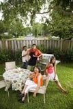 οικογένεια διαφυλετι&k Στοκ Εικόνες