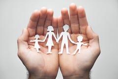 Φροντίδα για την οικογένειά σας στοκ φωτογραφίες