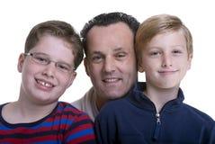 οικογένεια εκπαίδευσης Στοκ Φωτογραφία