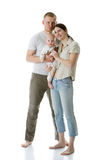 οικογένεια ευτυχής στοκ εικόνα με δικαίωμα ελεύθερης χρήσης
