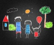οικογένεια ευτυχής Στοκ φωτογραφίες με δικαίωμα ελεύθερης χρήσης