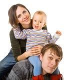 οικογένεια ευτυχής στοκ φωτογραφίες