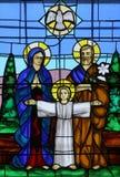 οικογένεια ιερή Στοκ Φωτογραφία