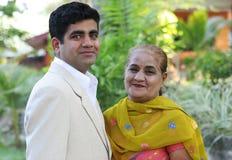 οικογένεια Ινδός Στοκ Εικόνες