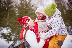 οικογένεια καλή Στοκ φωτογραφίες με δικαίωμα ελεύθερης χρήσης