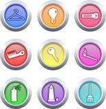 οικογένεια κουμπιών Στοκ φωτογραφίες με δικαίωμα ελεύθερης χρήσης