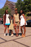 Οικογένεια μόδας Στοκ Εικόνες