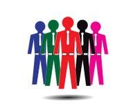Οικογένεια ομάδων ατόμων επιχειρήσεων και χρηματοδότησης Στοκ φωτογραφία με δικαίωμα ελεύθερης χρήσης