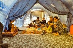 Οικογένεια στο Κιργιστάν Στοκ φωτογραφία με δικαίωμα ελεύθερης χρήσης