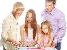 οικογένεια σχεδίων συμ&pi στοκ εικόνα με δικαίωμα ελεύθερης χρήσης