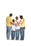 οικογένεια τέσσερα ευ&tau Στοκ Εικόνα