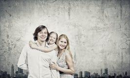 οικογένεια τρία Στοκ φωτογραφίες με δικαίωμα ελεύθερης χρήσης