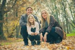 οικογένεια τρία Στοκ Εικόνα