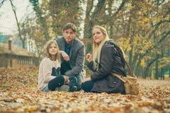 οικογένεια τρία Στοκ Φωτογραφία