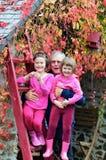 Οικογένεια φθινοπώρου Στοκ Εικόνες