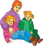Οικογένεια Στοκ Εικόνες