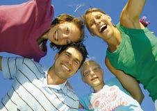 οικογένεια 2 ευτυχής Στοκ φωτογραφία με δικαίωμα ελεύθερης χρήσης