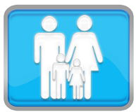 οικογένεια Στοκ φωτογραφία με δικαίωμα ελεύθερης χρήσης