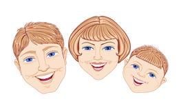 οικογένεια Στοκ εικόνα με δικαίωμα ελεύθερης χρήσης