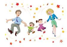 Οικογένεια διανυσματική απεικόνιση