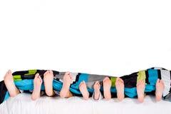 οικογένεια feets Στοκ εικόνες με δικαίωμα ελεύθερης χρήσης